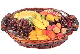 סלסלת פירות מהודרת