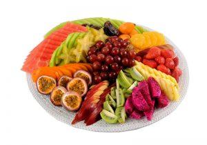 מגש פירות העונה קוטר